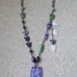 January Art Bead Studio Challenge – Butterfly Garden Necklace by McEnroeMoments