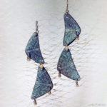Feb 2018 – Image-transferred Earrings, Anita