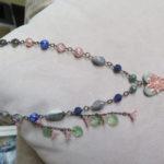 February Art Bead Scene Studio Challenge- Vintage Beauty Necklace by McEnroeMoments