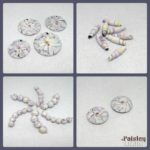 Watercolor Beads by Paisley Lizard