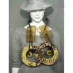 Yellow Spirit Hole Earrings
