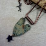 Heart of Stoneware Necklace