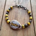 Buzzing Bee Bracelet