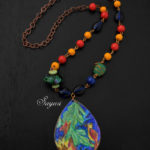 The Strawberry Thief – Arts and Crafts necklace