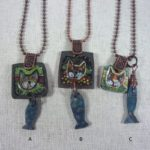 Cat FACE NECKLACES
